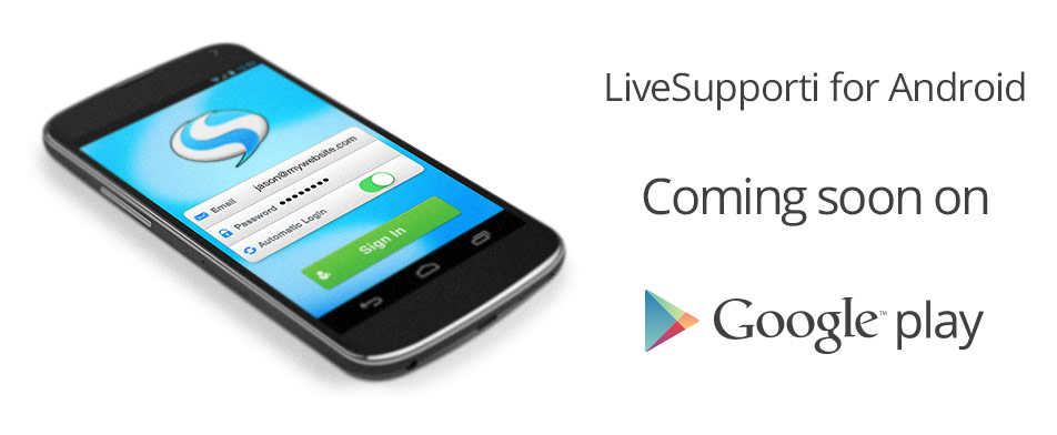 Live support chat for Android